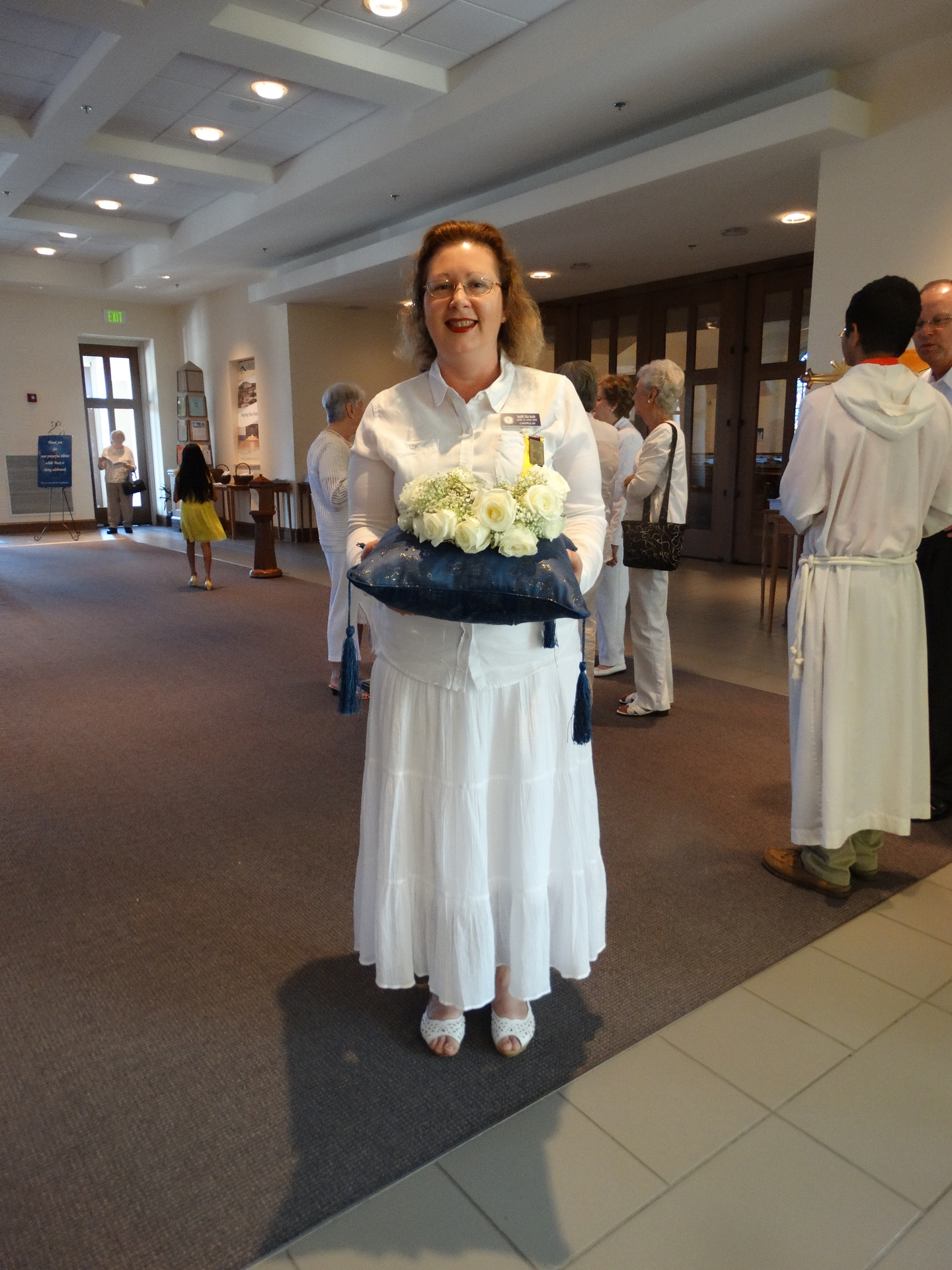 May Crowning:  Mary Lea, Regent